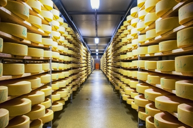 cheese storage facility